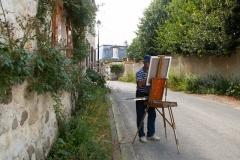 Les peintres d'Argenteuil à Rhus juillet 2007 -1