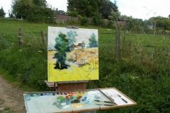 Les peintres d'Argenteuil à Rhus juillet 2007 -13