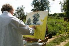 Les peintres d'Argenteuil à Rhus juillet 2007 -15