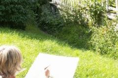 Les peintres d'Argenteuil à Rhus juillet 2007 -16