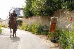 Les peintres d'Argenteuil à Rhus juillet 2007 -17