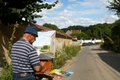 Les peintres d'Argenteuil à Rhus juillet 2007 -2