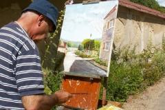 Les peintres d'Argenteuil à Rhus juillet 2007 -3