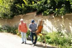 Les peintres d'Argenteuil à Rhus juillet 2007 -4