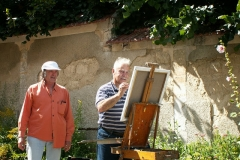 Les peintres d'Argenteuil à Rhus juillet 2007 -5