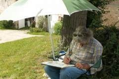 Les peintres d'Argenteuil à Rhus juillet 2007 -6
