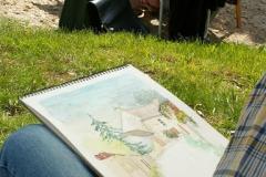 Les peintres d'Argenteuil à Rhus juillet 2007 -7