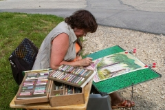 Les peintres d'Argenteuil à Rhus juillet 2007 -9