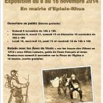Affiche du centenaire de la Grand Guerre 1914-1918