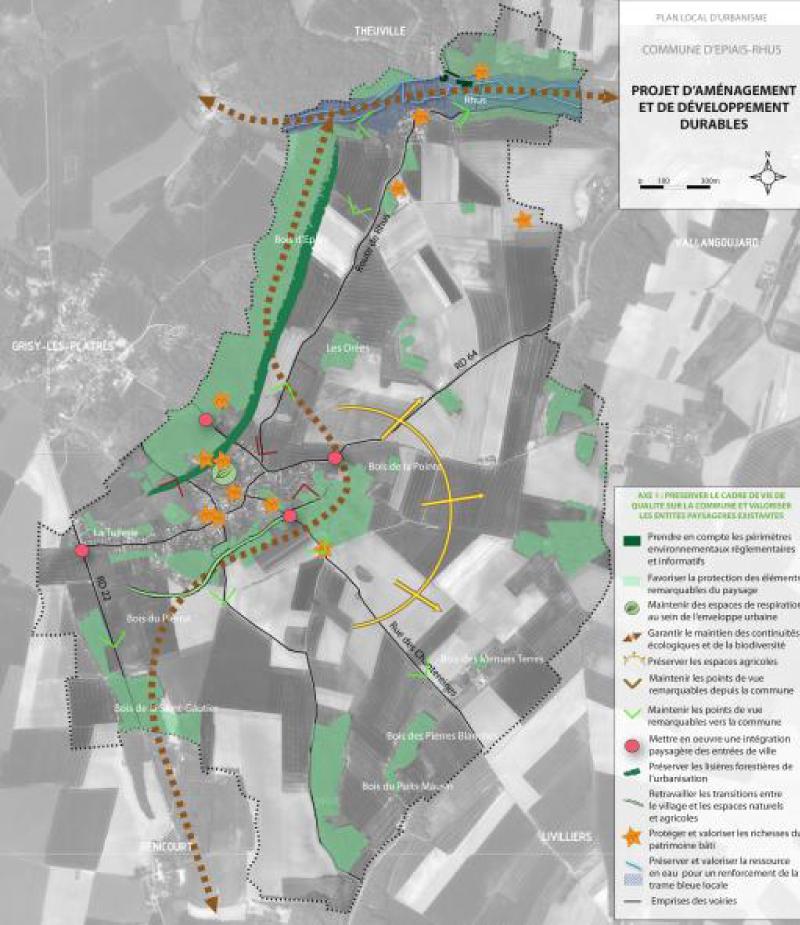 Projet d'aménagement et développement durable